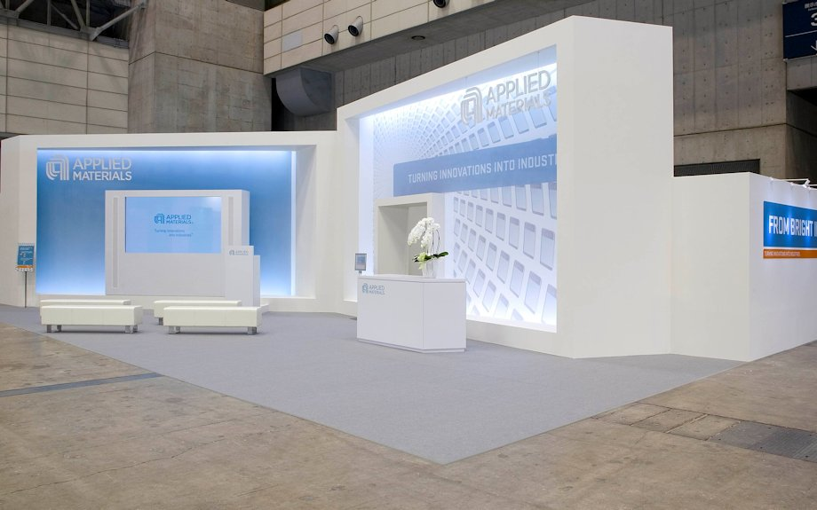 Modern Exhibition Booth Design : Trade fair exhibition design in the apac region