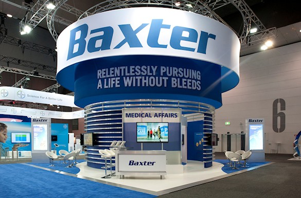 Baxter Exhibit by Idea International, Inc.