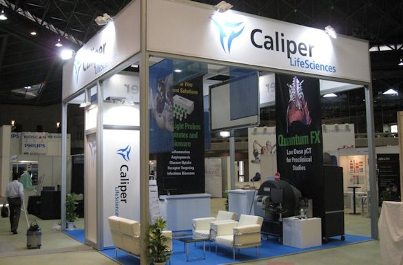Caliper Life Sciences Exhibit by Idea International