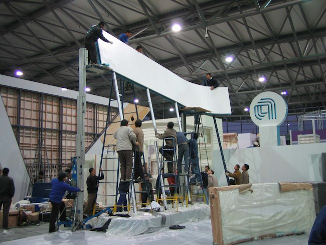Exhibit Construction for Applied Global Services