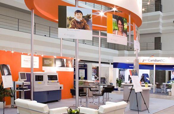 Novartis Diagnostics Exhibit by Idea International, Inc.