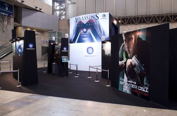 Ubisoft Exhibit by Idea International, Inc.