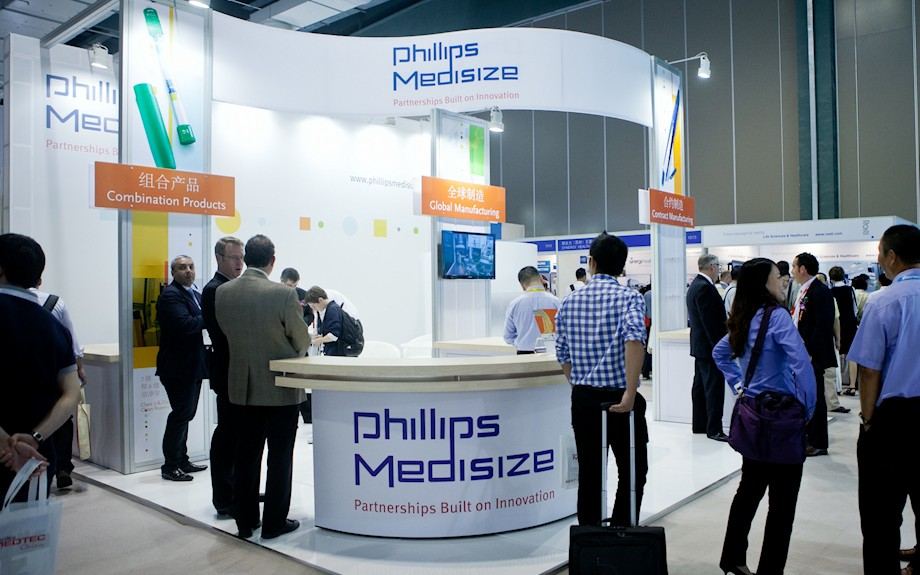 Phillips Medisize Exhibit by Idea International, Inc.
