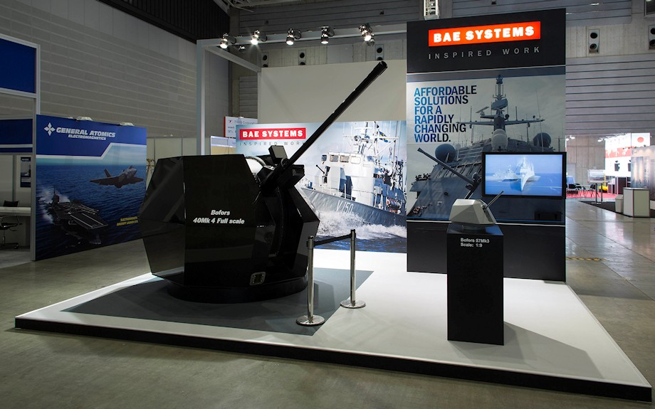 BAE Systems exhibit by Idea International, Inc.