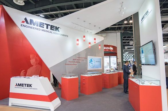 Ametek Exhibition Stand by Idea International, Inc.