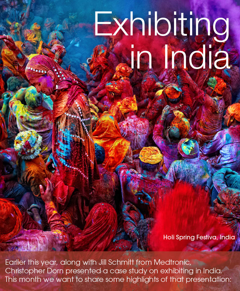 Exhibiting in India