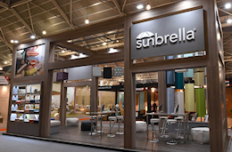 Sunbrella Exhibition produced by Idea International, Inc.