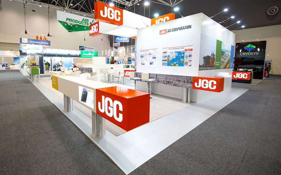JGC Corporation exhibition by Idea International, Inc.