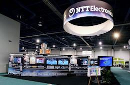 展示会出展ブース実績例 NTT(日本電信電話株式会社) -3