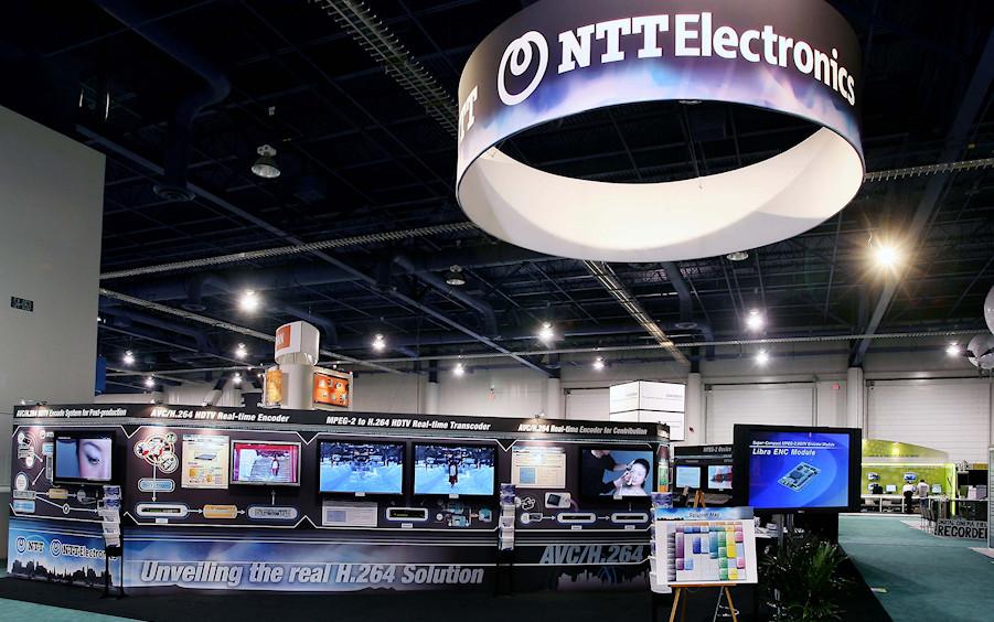 NTT exhibition by Idea International, Inc.