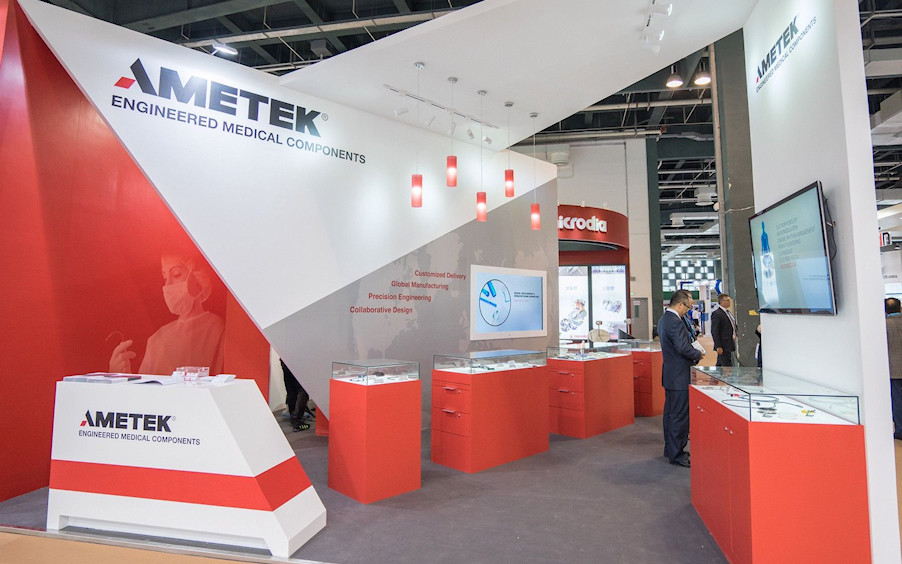 Trade Fair Exhibition Services by Idea International- Ametek Exhibit