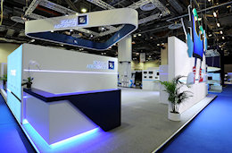 Zodiac Aerospace Exhibit at APEX Sigapore by Idea International, Inc.