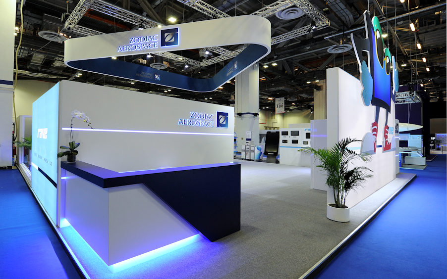 Zodiac Aerospace Exhibit at APEX Singapore by Idea International
