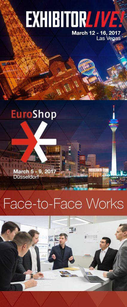 Meet Idea International at ExhibitorLive and Euroshop