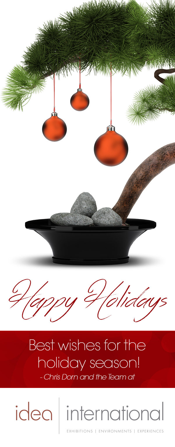 Happy Holidays from Idea International, Inc.!