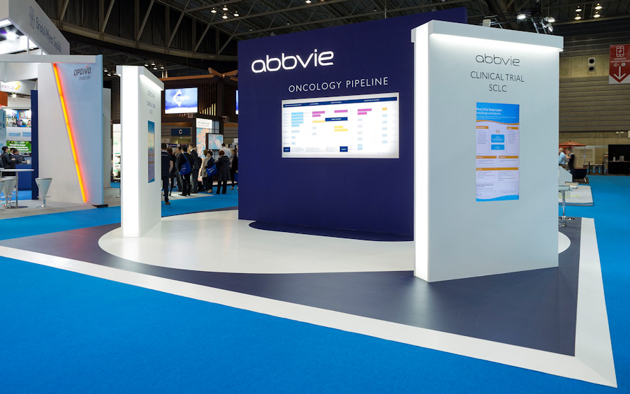 Abbvie exhibit at World Conference on Lung Cancer by Idea International