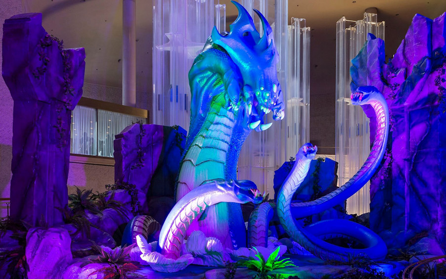 """Idea International created """"The Baron"""" for Riot Games' Tokyo, Japan, event"""