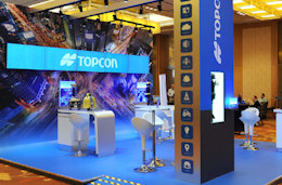 Topcon Exhibit by Idea International at Bentley's Year in Infrastructure Conference -1