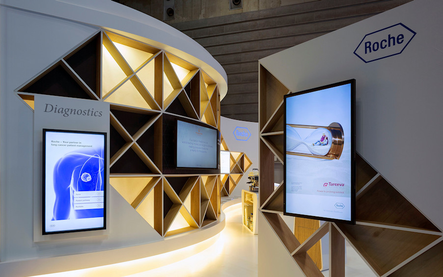 International Exhibition Stands by Idea International - Roche