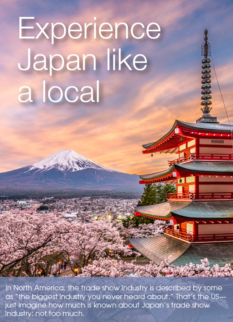 Experience Japan like a local - Idea International