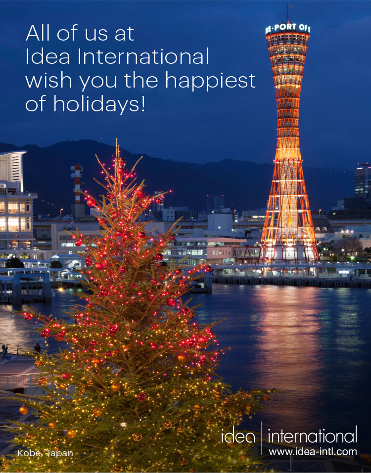 Wishing You the Joy of the Season - Idea International, Inc.