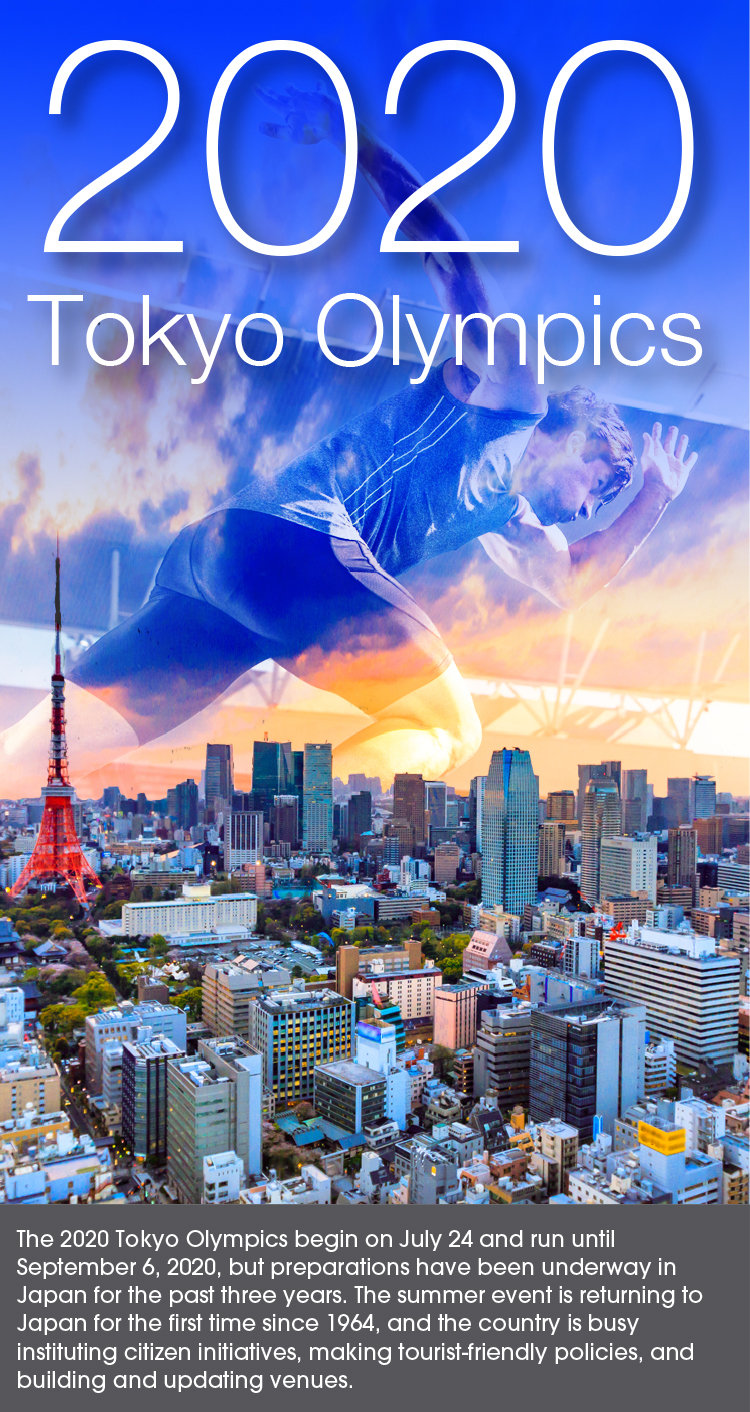 Preparing for the Tokyo Olympics 2020