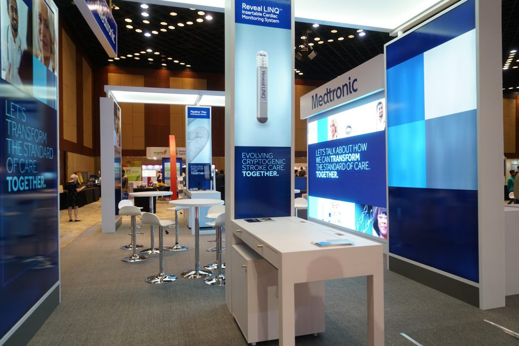 Emerging Trends Spark Growth for Healthcare Exhibiting in the APAC Region - Medtronic Exhibit