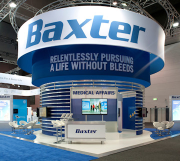 Baxter Exhibit at World Federation of Hemophilia. Melbourne AU – Project by Idea International, Inc. #5