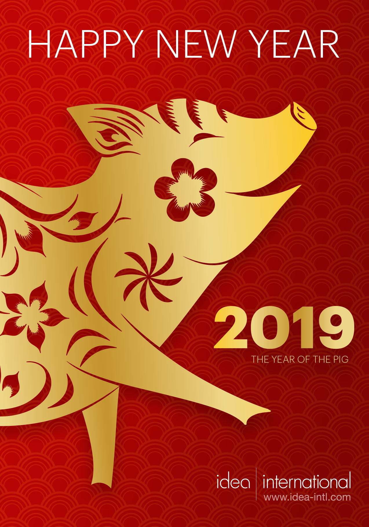 2019 is the Year of the Pig - Idea International Newsletter