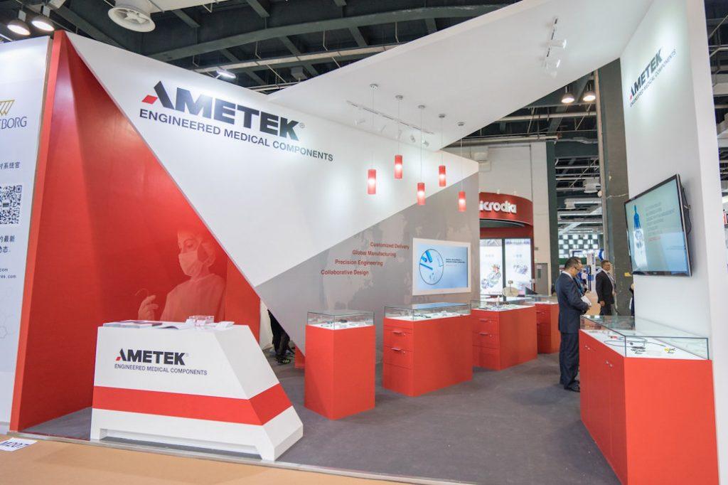 AMETEK Exhibit at MedTec China by Idea International, Inc.