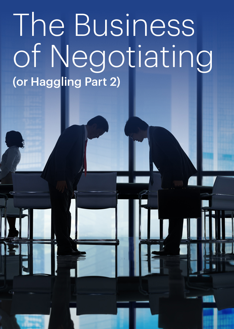 Negotiating in the APAC Region: A Team Sport