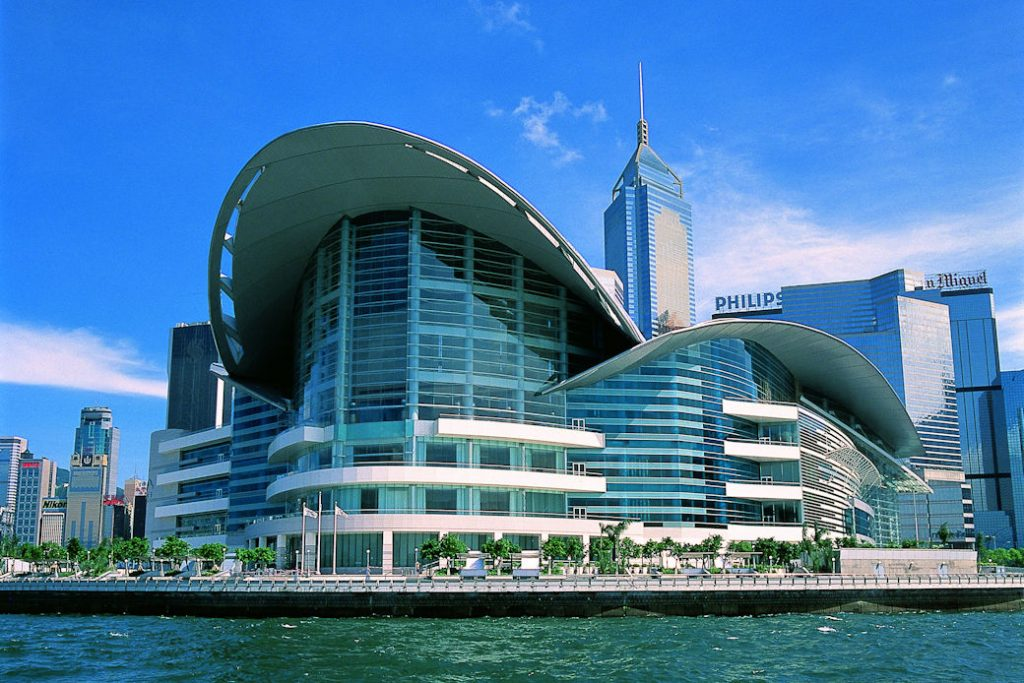 Hong Kong Convention and Exhibition Centre is very attractive to exhibitors and attendees alike.