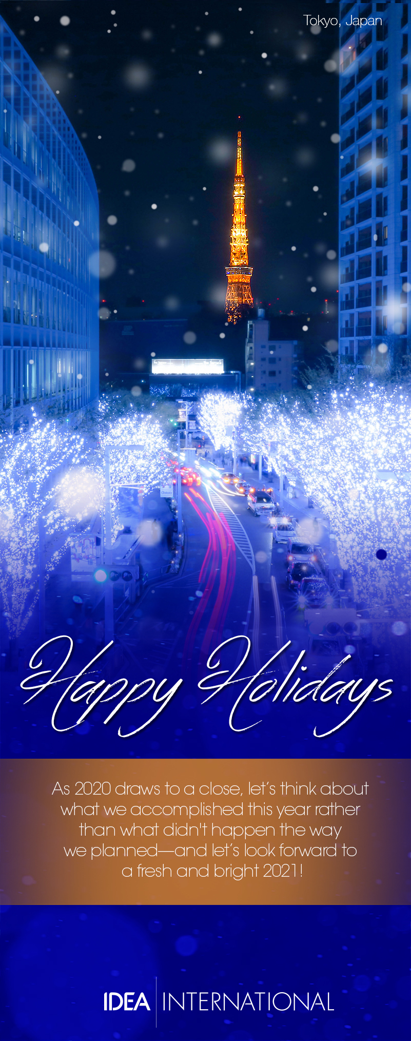 Happy Holidays from Idea International! - 2020