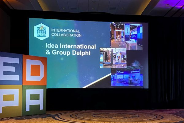 EDPA Recognizes 15-year International Collaboration between Idea International, Inc. and Group Delphi