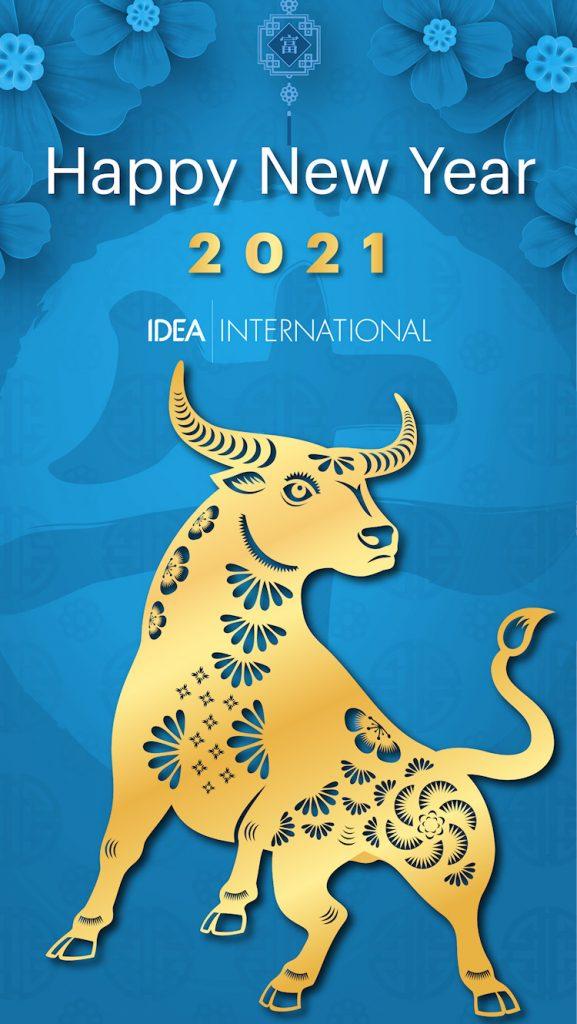 Happy New Year 2021 from Idea International, Inc.