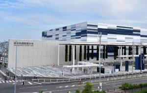 The Aichi Sky Expo is a world-class exhibition center