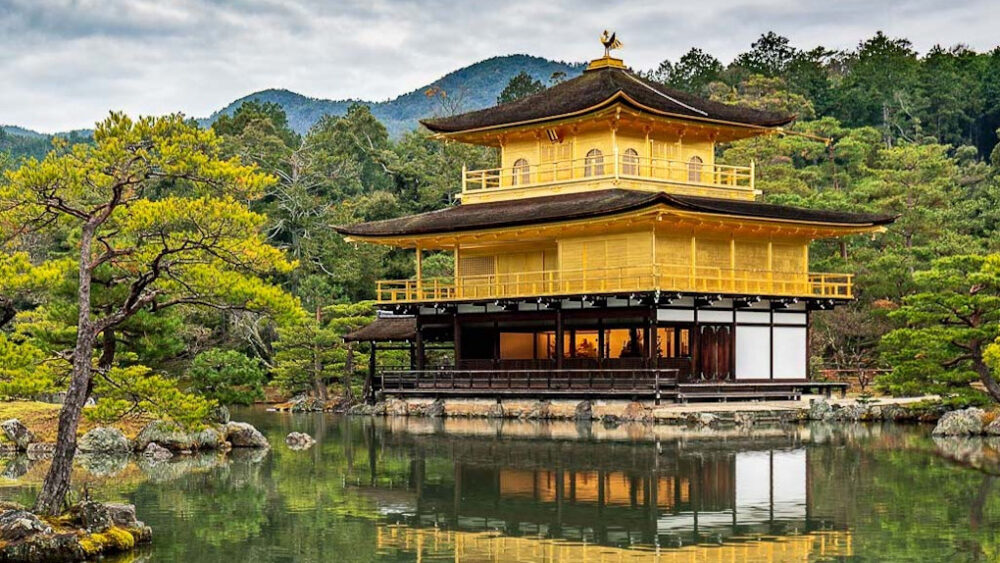 Exhibiting in Japan offers unique cultural experiences that effortlessly build the strength of personal connections - Golden Temple, Kyoto, Japan